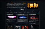 Pantheon - Joomla Music Themes