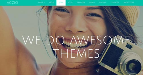 Accio Joomla Theme
