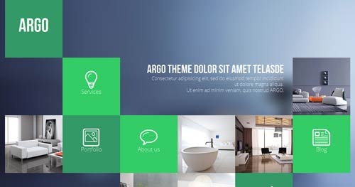 Argo - One Page Joomla Themes