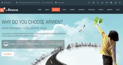 Arwen Joomla Theme