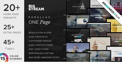 BigStream Joomla Template