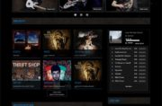 FLANGER - Joomla Music Themes
