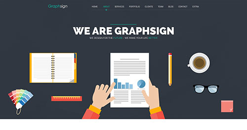 Graphsign Joomla Template