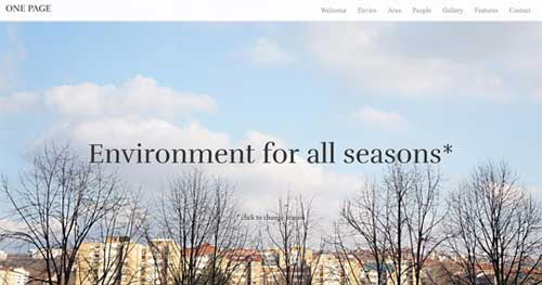 HOT One Page - One Page Joomla Themes
