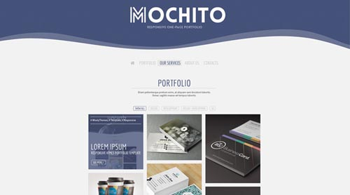 Mochito - One Page Joomla Theme