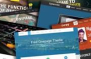 One Page Joomla Themes