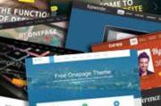 One Page Joomla Themes