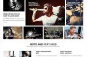 RockWall - Joomla Music Themes