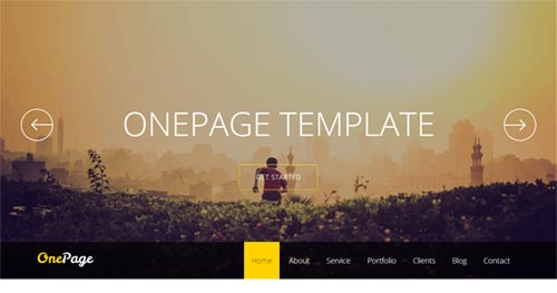 Shaper OnePage - One Page Joomla Themes
