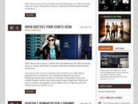 Sienna - Joomla Music Themes