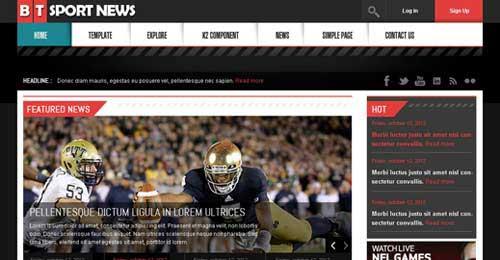BT News - Joomla News Magazine Themes