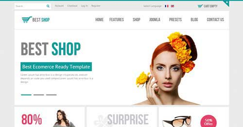 BestShop - VirtueMart Joomla Themes
