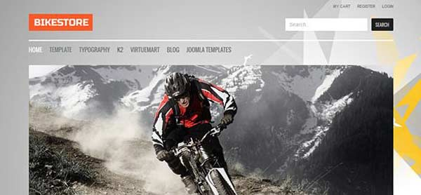 Bike Store - VirtueMart Joomla Themes