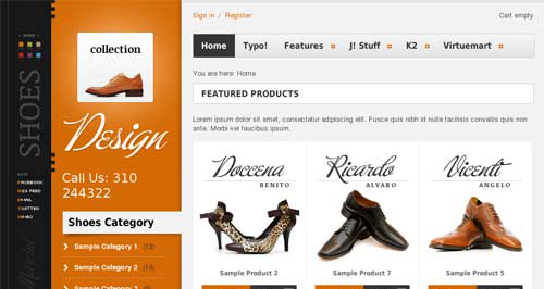 Collection - VirtueMart Joomla Themes