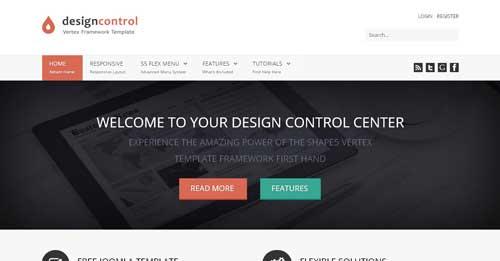 Design Control - Free Joomla Themes