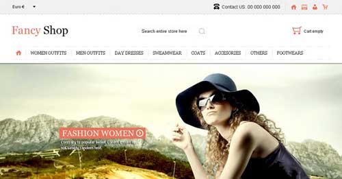 Fancy Shop - VirtueMart Joomla Themes