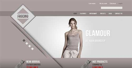Fascino - VirtueMart Joomla Themes