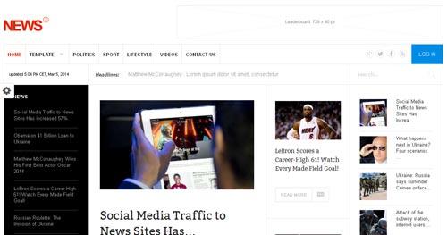 Gavick News 2 - Joomla News Magazine Themes