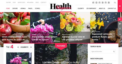 HealthMag Joomla Theme
