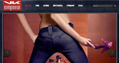 Hot Fashion Store - VirtueMart Joomla Themes
