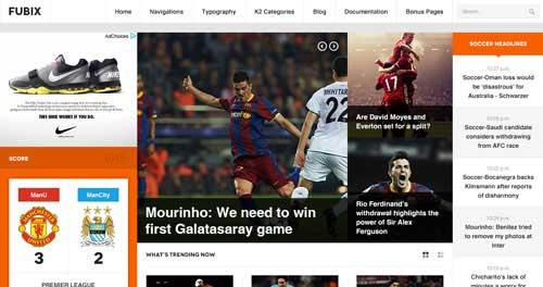 JA Fubix - Joomla News Magazine Themes