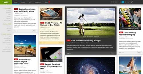 JA Wall - Joomla News Magazine Themes
