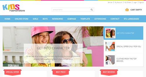 JM-Kids-Fashion-Store - VirtueMart Joomla Themes