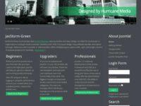 JaxStorm-Green - Free Joomla Themes