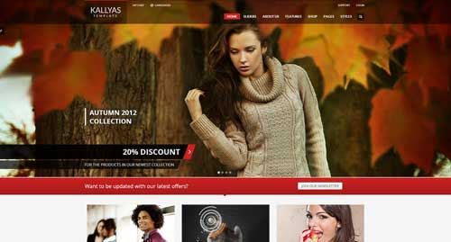 KALLYAS - VirtueMart Joomla Themes