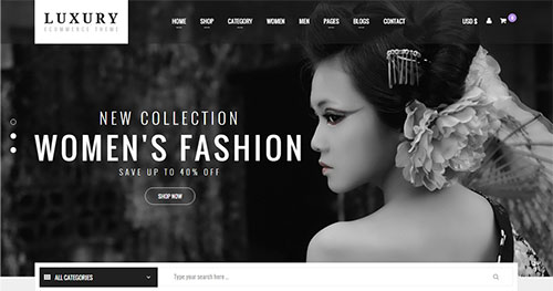 Luxury Joomla Template