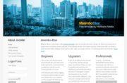Meembo-Blue - Free Joomla Themes