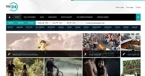 NEWS24 - Joomla News Magazine Themes