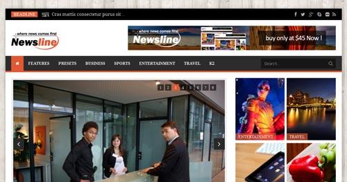 Newsline - Joomla News Magazine Themes