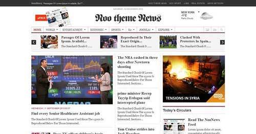 Noo News - Joomla News Magazine Themes