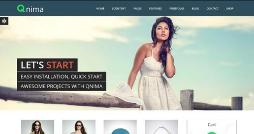 Qnima - VirtueMart Joomla Themes