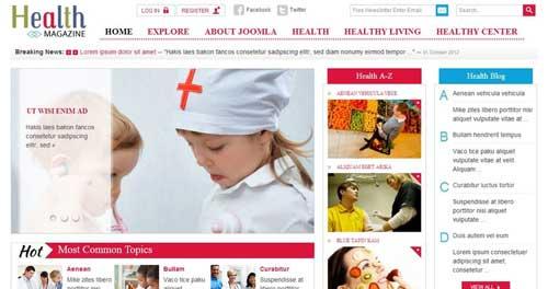 SJ Health Magazine - Joomla News Magazine Themes