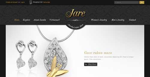 SJ Jare - VirtueMart Joomla Themes