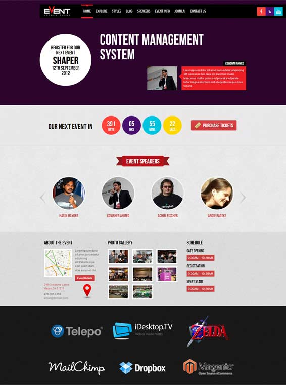 Shaper Event