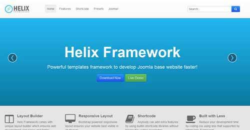 Shaper Helix II - Free Joomla Themes