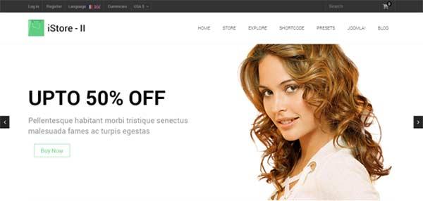 Shaper iStore II - VirtueMart Joomla Themes