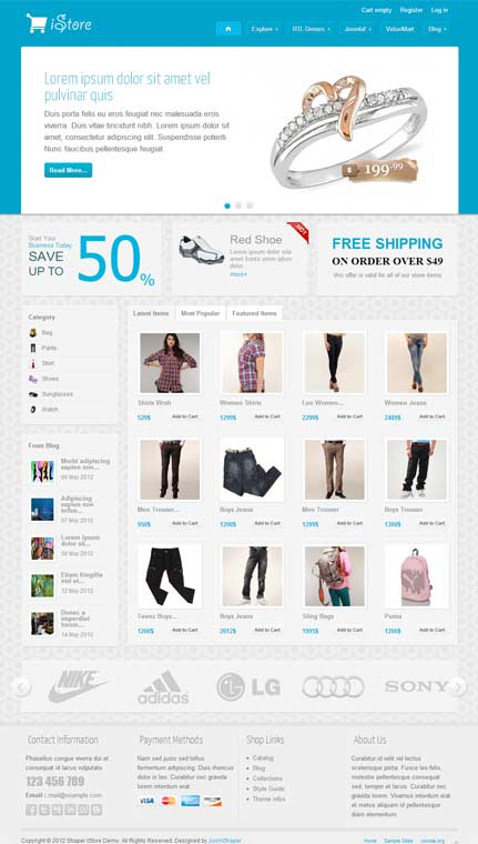 Shaper iStore