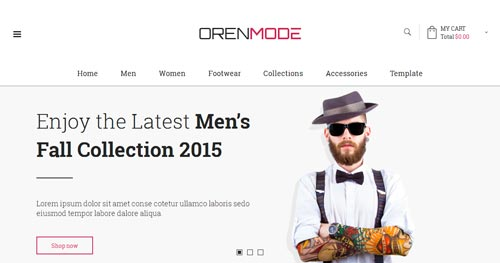 Vina OrenMode Joomla Theme
