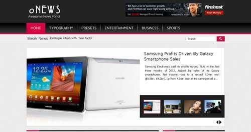 oNews - Joomla News Magazine Themes