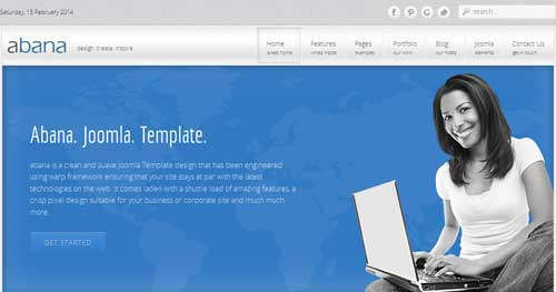 Abana - Responsive Business Joomla Templates