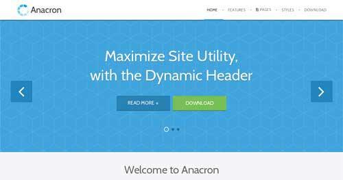 Anacron - Responsive Business Joomla Templates