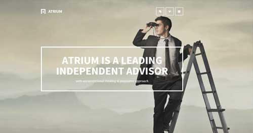 Atrium - Responsive Business Joomla Templates