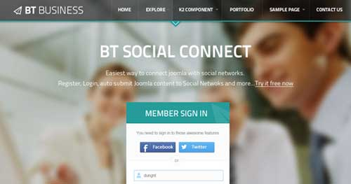 BT Business - Responsive Business Joomla Templates