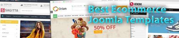 Best Ecommerce Joomla Templates