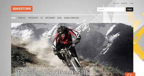 Bike Store - Ecommerce Joomla Templates