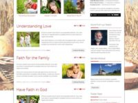 Churchy Joomla Theme